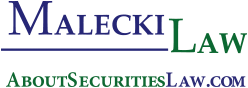 Logo of Malecki Law